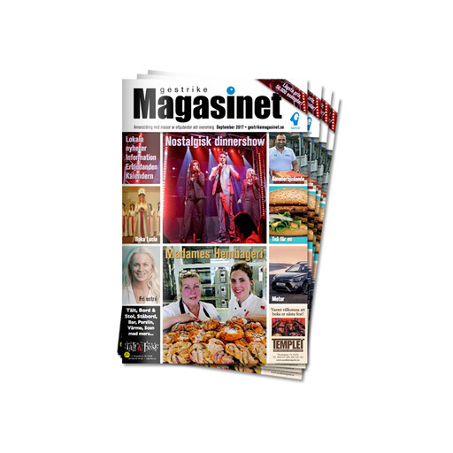 Gestrike Magasinets septembernummer