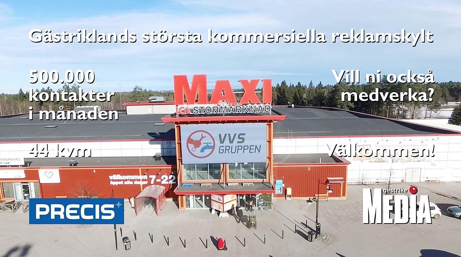 quality design 3da8f f090a Gästriklands största reklamplats är ...