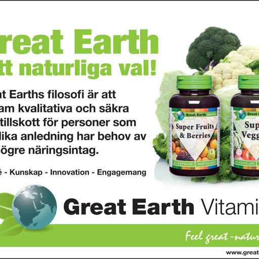 Annons Great Earth